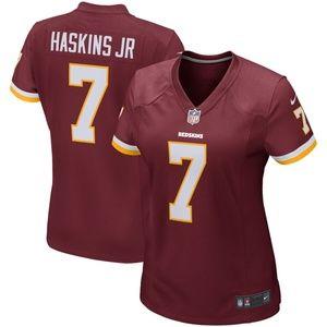 Women's Washington Redskins Dwayne Haskins Jersey